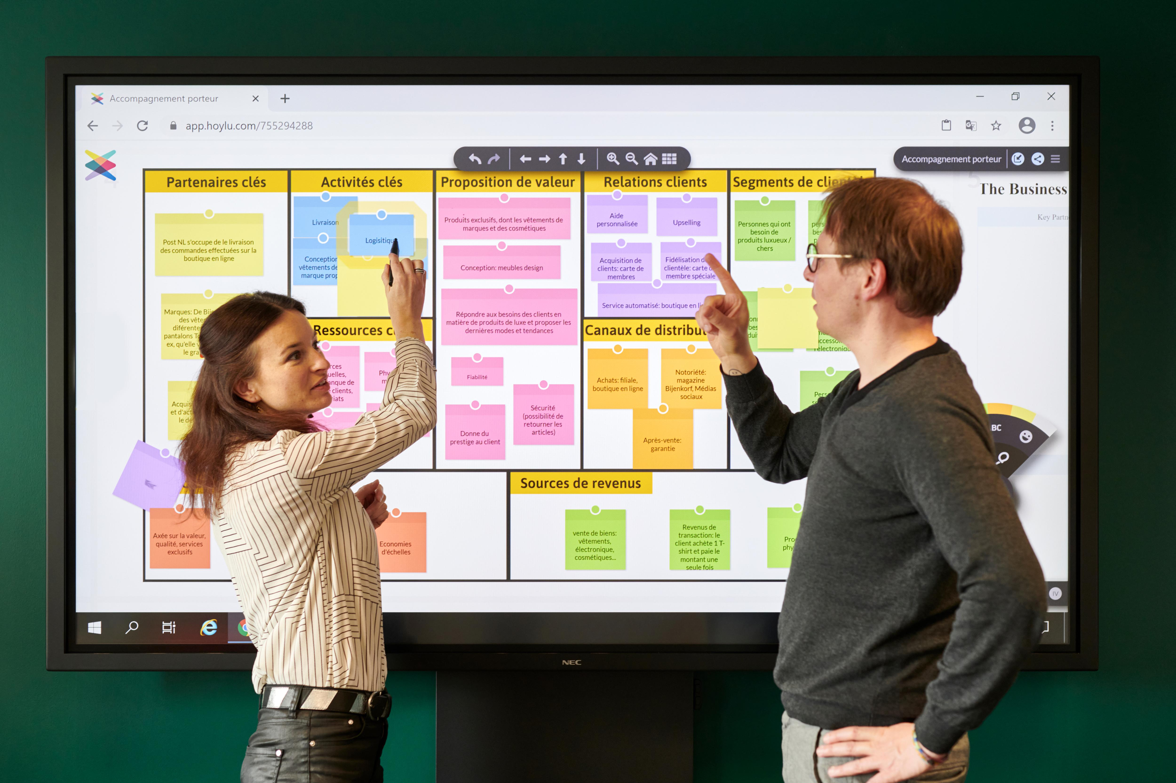 Business Model Canvas Accompagnement Innovation Vipe Hoylu