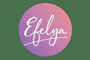 Logo Efelya Rond Rose 450x300