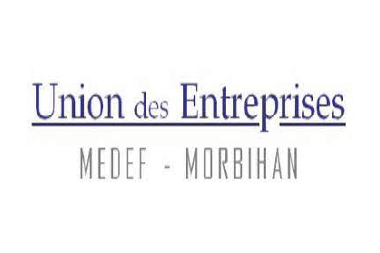 Logo Union Entreprises Medef Morbihan