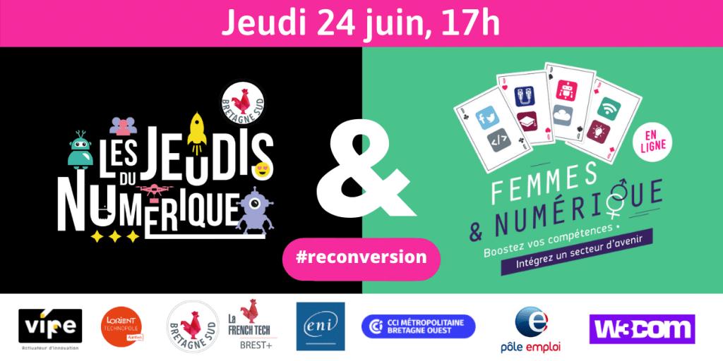 Jeudi Du Numerique Femmes Et Numerique Reconversion Professionnelle