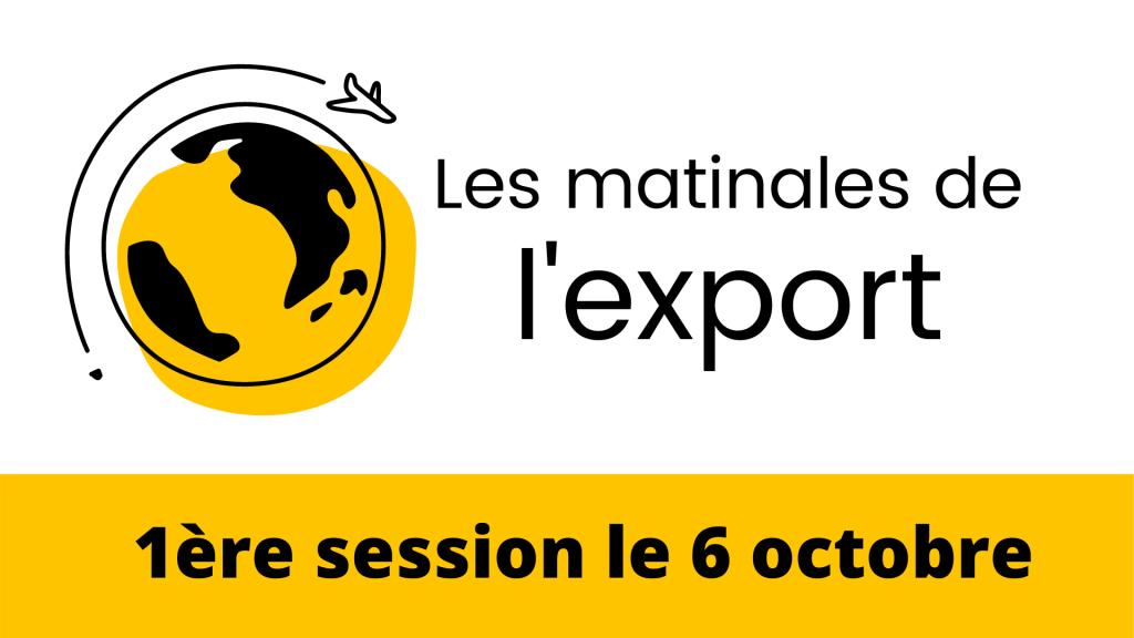 Matinales De L Export Le 6 Octobre 2021