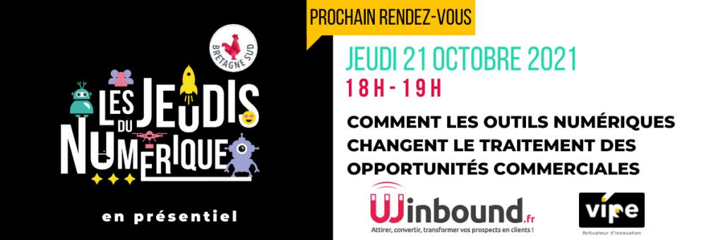 Jeudis Du Numerique Winbound 21 Octobre 2021 Brebion