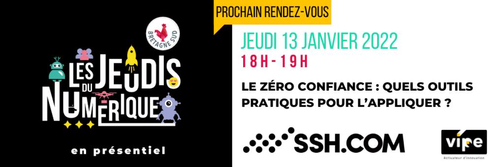 Jeudis Du Numerique Ssh Zero Confiance 13 Janvier 2022